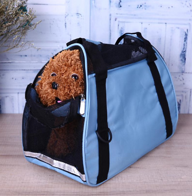 Pet Carrier Soft Sided Cat / Dog Comfort Travel Tote Bag Airline Approved