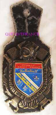 IN12243 - Insigne SAPEURS POMPIERS NEUILLY SAINT FRONT, 02
