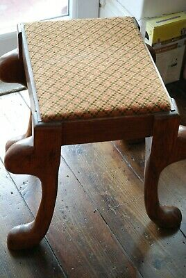 Antique Arts & Crafts Large Stool Seat/Foot rest Circa 1900 -Unusual collectable