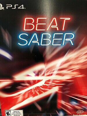 Beat Saber PS4 VR Download Code Only