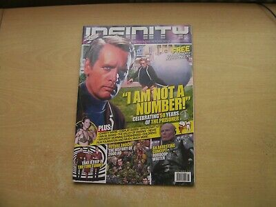 Infinity Magazine Iss 6 The Prisoner, Time Tunnel, 2000Ad & More!