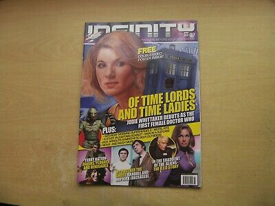 Infinity Magazine Iss 7 Doctor Who, Terry Nation, The U.f.o Story & More!