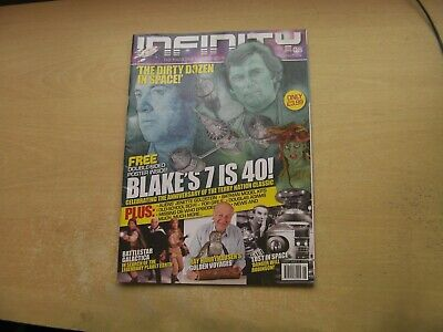 Infinity Magazine Iss 8 Blake's 7, Battlestar Galactica, Lost In Space & More!