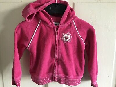 Early Days Hot Pink Velour Hoody. Girls. Age 6-12 Months.