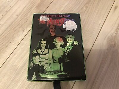 The Munsters Complete First Season 1 DVD NTSC Region 1