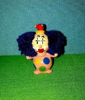 Hand Crafted & Painted Happy Clown Real Glass Marble Land Miniature Doll House