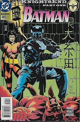 Batman (Vol.1) No.509 / 1994 Knightsend Part One / Doug Moench & Mike Manley