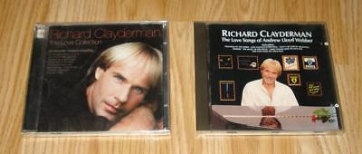 2 CDs Richard Clayderman Love Songs  CD & The Love Collection CD