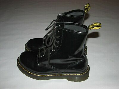 c05c44dc7b1 DR DOC MARTENS Boots 1420 92 Vintage 20 Eye Tall High Boots Black ...