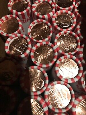 (1) Roll - 2019 Lincoln Shield Cents Penny BU OBW - Ready to ship