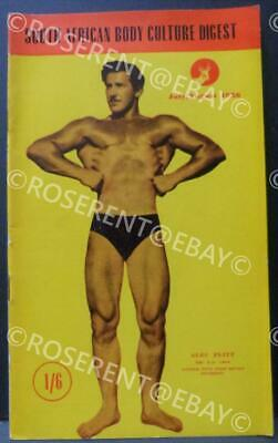 1956 Body Culture Digest - South African Body-building Magazine July/August 1955