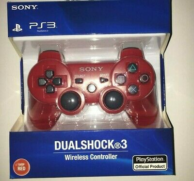 Original Sony PS3 Wireless  Dualshock 3 Controller -RED