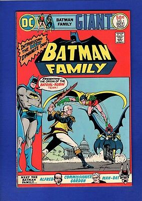 Batman Family #1 Nm- 9.2 High Grade Bronze Age Dc (Minor Cover Oxidation)