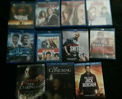 Blue Ray Lot Of 11 See Pictures Read Disciption All Great Shape!!!