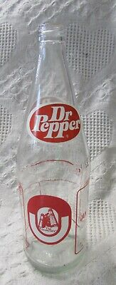 Vintage Dr. Pepper OU Commemorative Bottle, 32 Fl. Oz.