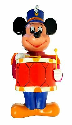 Walt Disney Productions Drummer Mickey Mouse Dry Powdered Soap Dispenser 6514