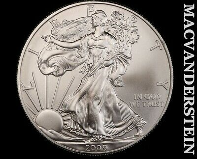 2009 American Silver Eagle 1 Ounce-Ch Gem Brilliant Unc!! No Reserve!! #f3441