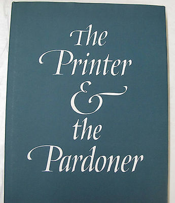 Incunabula Printer Pardoner William Caxton Medieval Printing Hospital Illus 1986