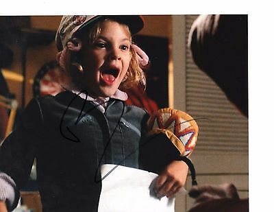 Drew Barrymore In E.T. As Gertie Hand Signed 8x10 Photo Autographed COA Proof