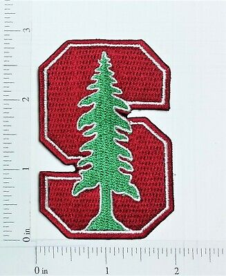 NCAA U of Stanford Cardinal Logo embroidered Iron on Patch High Quality Shirt