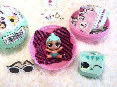 LOL Surprise Doll Lil TroubleMaker Series2 Ball Lil Sis Complete Authentic Rare