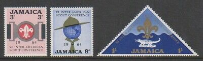 Jamaica - 1964, Inter-American Scout Conference set - MNH - SG 233/5