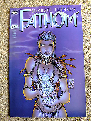 FATHOM Vol 1 no.7 Michael Turner Top Cow / Image