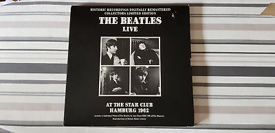 The Beatles Live At The Star Hamburg 1962 CD Box in LP Format