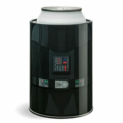Set of 2 Metal Disney Star Wars Licensed Darth Vader Can Cooler Koosie Cozy Kozy