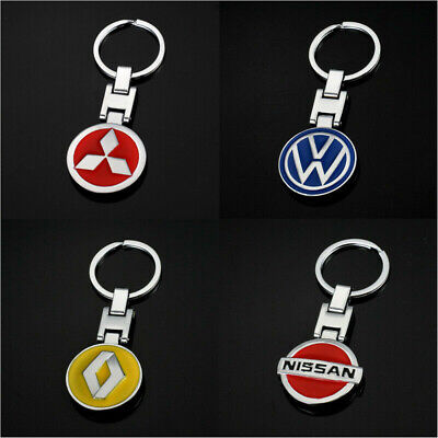 Auto Car Logo Metal Key Chains Pendant Holder Keyring Keychain for BMW Honda VW