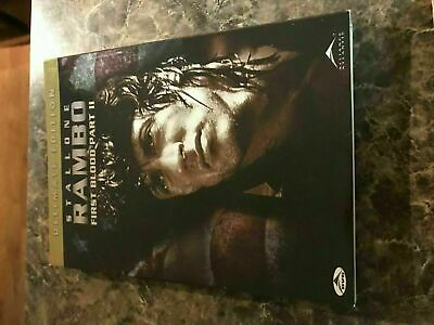 Rambo Ii First Blood Part 2 Ultimate Edition - Dvd Size - Slip Cover Only