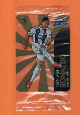Topps Crystal Card Cristiano Ronaldo Juventus  Limited Edition No Panini Sealed