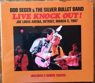 "Bob Seger & The Silver Bullet Band""live Knock Out!"" Rare Double Cd Live Neuf !"