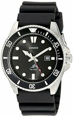 Casio Diver Wrist Watch Mdv-106-1Av Black Men Overseas Model F/S /c1