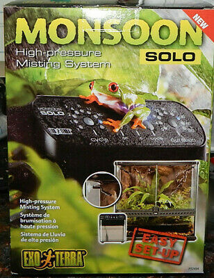 Exo Terra Monsoon Solo High Pressure Misting System For Reptile