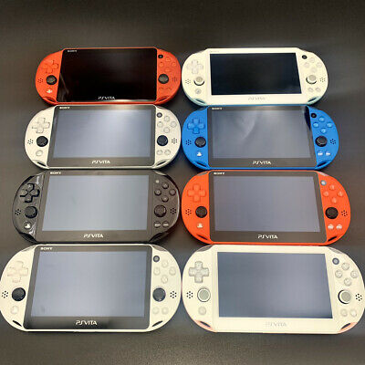 Used Sony Playstation PS Vita PCH-2000 Console only Various colors
