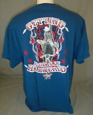 70fb64a2e PBR Professional Bull Riders Rodeo Royally Hammered T-Shirt Size Extra  Large XL