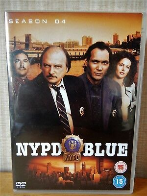 NYPD Blue - Series 4 - Complete (DVD, 2006, 6-Disc Boxed Set)