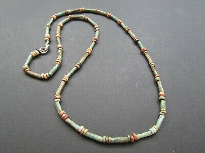 "ANCIENT EGYPTIAN MUMMY BEADS also Called /""SHA SHA/"" Beads 500BC Best Price 200"