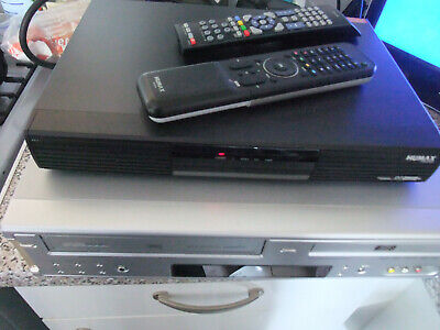 Humax 500Gb Pvr-9150T Digital Freeview Recorder + Daewoo Vhs Dvd Combi Df-4100P