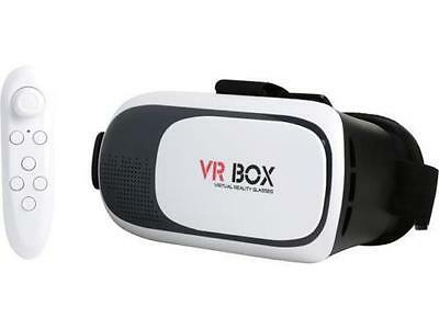 VR box Headset with Bluetooth remote control Included Virtual Reality