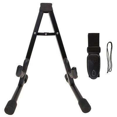 Guitar Strap Belt & Floor Stand for Acoustic/Electric/Classical Guitar Parts