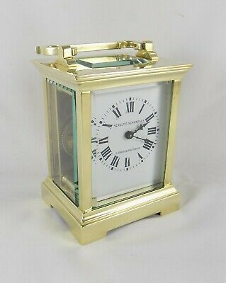 Carriage Clock By Couaillet - Schultis, Schwar & Co. - Fully Cleaned & Serviced