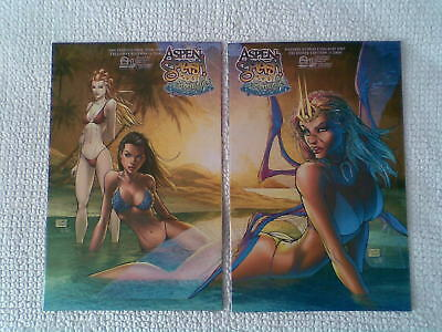 ASPEN SWIMSUIT SPLASH 2007 - Connecting MICHAEL TURNER Convention Variants