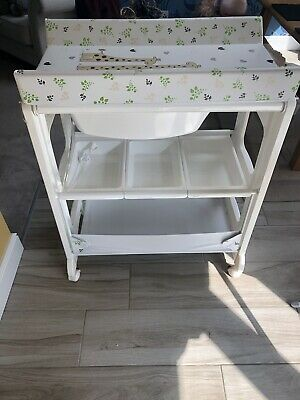 Babylo Smart Changer baby changing table and bath With Storage Shelves