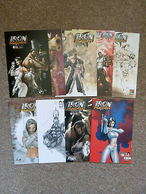 Iron And The Maiden # 0B 1A 1B 1C 1D 1E 2C 2D & 3C Variants Michael Turner Aspen