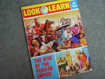 LOOK And LEARN.1972. The Persians. The Trigan Empire.