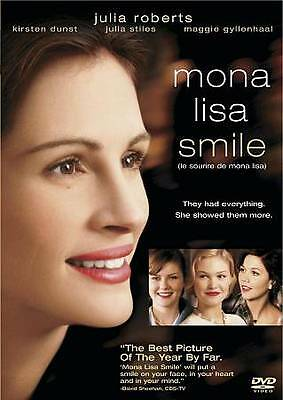 Mona Lisa Smile (DVD, 2006, Canadian) DISC IS MINT