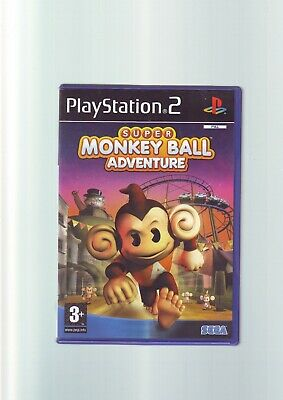 Super Monkey Ball Adventure - Sony Playstation Ps2 Game - Original & Complete