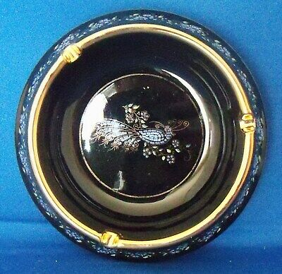 Vintage Greek Ashtray Made in Greece 24k Anapale